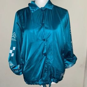 Forever 21 Women's  Blue Jacket Size Small